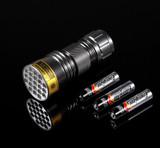 21 LED UV Ultra Black Light Flashlight