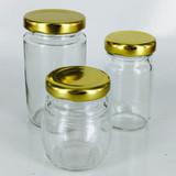 "Jar With Lid 3"" X 1.5"""