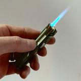 "Butane Jet Flame Windproof Lighter Wand 3.3"""