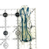 """Chonker Color Marble Chillum 3"""""""