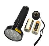 Aluminum Shell Ultravoilet Light 6xAA Torch