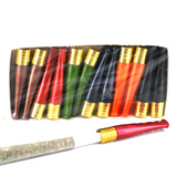 """2"""" Cigarette Holder One - Lucite, High Quality  X 12 Pieces Assorted Colors"""