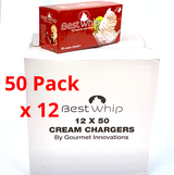 Best Whip Cream Chargers 12x50 Case
