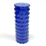 Large Acrylic Herb Grinder BLUE (10 PACK)