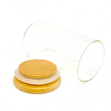Large Glass Jar with Bamboo Lid 200ml or 6oz