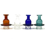 Spin Cut Carb Cap 37mm Outer Dimension Assorted Colors 1 Count