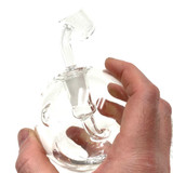 Da Dab Ball Round Water Pipe with 14mm Female Joint  Puffr