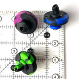 Air Flow Silicone Carb Cap 1 Count Assorted
