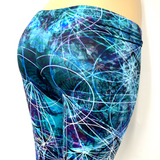 Deep Space Green Pants Leggings One Size Fits Most