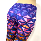 Rainbow Asanoha Future Pants Leggings One Size Fits Most