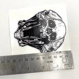 """Badass Skull Sticker 3.5"""""""