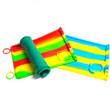"Silicone Dab Mats w/ Tool Holders 12"" x 8"" (Assorted Colors)"