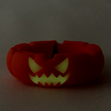 """Jack-O-Lantern Glowing Eyes Unbowler Ashtray Silicone 1 Count Assorted Color 5.5"""""""