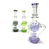 Ball Recycler Perc Carta Top 1 Count Assorted Colors