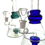 """Nepalese Samar Glass Water Pipe 1 Count Assorted 10"""""""