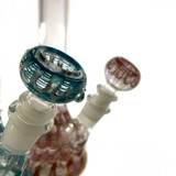 """Royal Colorful Nepal Glass Water Pipe 1 Count Assorted 8"""""""