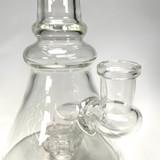 Clear Bent Beaker Water Pipe