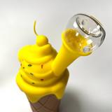 Icecream Silicone Bubbler Pipe