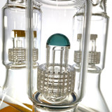"""Matrix in The Middle Beaker 15"""" Glass Water Pipe 1 Count Assorted"""