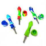 10mm Ti Pocket Silicone Nectar Collector 1 Count Assort