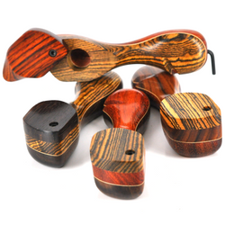 """Skytopper Wood Pipe With Lid 4"""" - USA 1 Count Assorted"""