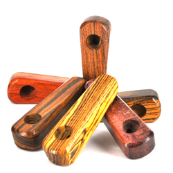 """QUICKDRAW WOOD PIPE 3 1/2"""" - USA B12"""