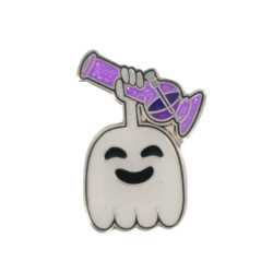 """""""High"""" Five Ghost Hat Pin"""