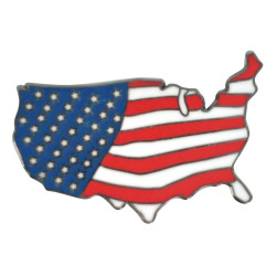 America the Free  Hat Pin