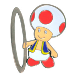 Super Hoopers Toad Hat Pin