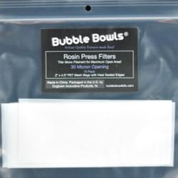 Bubble Bowls 30 Micron Rosin Press Filters (10 PK)