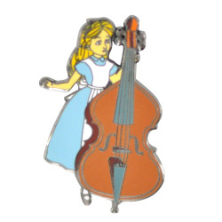 Limited Edition Alice In Celloland Hat Pin