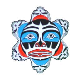 Limited Edition Stealie Clown Sun Hat Pin