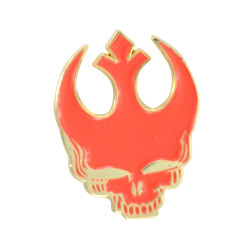 Rebel Stealie Pin Red Limited Edition