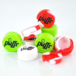 Puffr 3mm Silicone Jar (Assorted Colors)