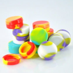 3mm Silicone Jar (Assorted Colors)