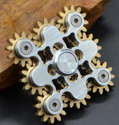 9 Gear Steampunk Hand Spinner