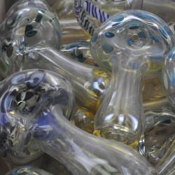 """3"""" Colorado Blown Big Shroom Glass Handpipe"""