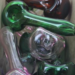 "5"" Colorado Blown Solid Color Spoon Glass Handpipe (Assorted Colors)"