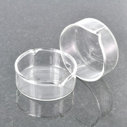 Large Worked Glass Dab Dish