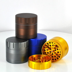 63MM Cali Crusher 4 Piece Grinder (Assorted Colors)