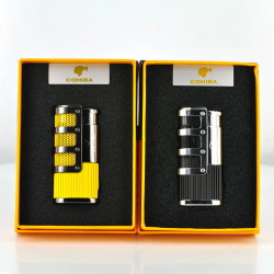 Cohiba Cigar Punch 3 Flame Pocket Torch