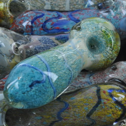 """Big Coral Dreamers 6"""" Glass Hand Pipe"""