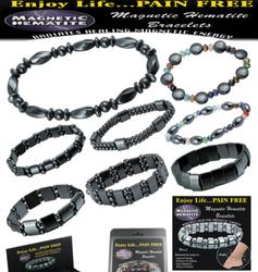 Magnetic Hematite Bracelets (Assorted Styles)