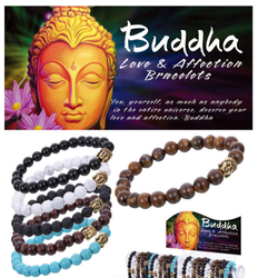 Buddha Love & Affection Bracelets (Assorted Styles)