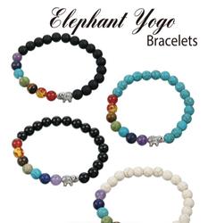 Elephant Yogo Bracelets (Assorted Styles)
