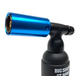 Blue Turbo Metal Nozzle Guard for Blazer Big Shot / Big Buddy Butane Torches