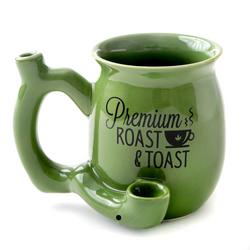 GREEN SMALL ROAST AND TOAST MUG 82372
