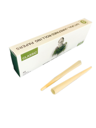 """Afghan Hemp 1 1/4"""" Natural Unrefined Cone Rolling Papers Multi Pack (32 Cone Pack)"""