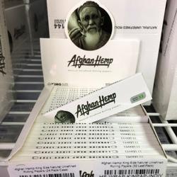Afghan Hemp King Size Natural Unrefined Rolling Papers (32 Leaf Pack)