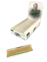 """Afghan Hemp 1 1/4"""" Natural Unrefined Rolling Papers (24 Pack Case)"""
